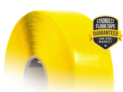 SafetyTac is the Strongest Floor Tape on the Market - Guaranteed!